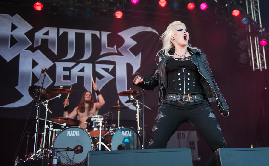 sweden rock battle beast Noora Louhimo